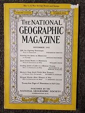 National Geographic Magazine November 1942 Army, Japan faces Russia, Mexico