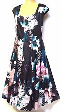 plus sz S - M / 18 TS TAKING SHAPE EVENT-WEAR Oriental Garden Dress NWT! rrp$280
