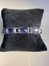 swarovski Purple Tennis Bracelet