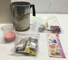 DIY Candle Making Kit Lot Candles Craft Tools Candle Pouring Pot Quarantine