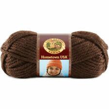 Skeins Lion BRAND Hometown USA Yarn 023032001647 Billings Chocolate
