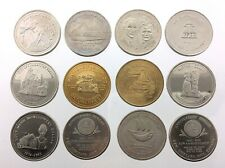 Lot of 12 Canadian Trade Dollars Circulated Commemorative Tokens R417