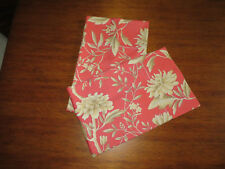 Ralph Lauren Villa Camelia FLORAL 2 STANDARD pillowcases New