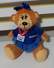 PROMOTIONAL OFFICEWORKS POLLIE TEDDY BEAR PLUSH TOY SOFT TOY 20CM TALL