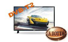 "Televisore TV LED LCD Full HD 22"" AKAI AKTV2213 T DVB-T2 - 12 Volt Camper Camion"