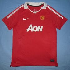 Manchester United / 2010-2011 Home - NIKE - JUNIOR Shirt / Jersey. 12-13y, 152-8