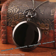 BLACK FRIDAY DEALS - Pocket Watch Necklace Xmas Gifts For Him Men Uncle Husband