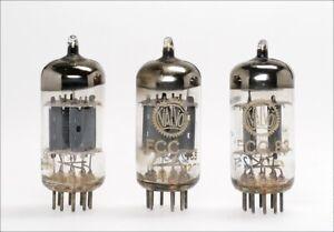 3 Stück ECC83 12AX7 VALVO O-Getter same code -> geprüft !