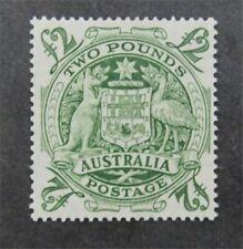 nystamps British Australia Stamp # 221 Mint Og Nh $210 U4y1492