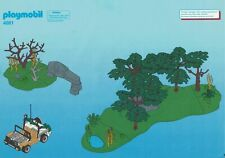 Playmobil Bauanleitung 4081 Safari-Set