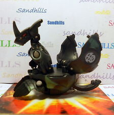 Bakugan Helix Dragonoid Black Ventus Baku Camo DNA 740G & cards