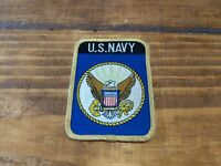 Embroidered Military Patch U S Navy Emblem  Eagle on Anchor vintage