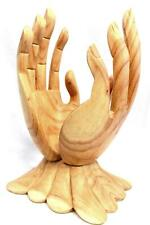 BUDDHA Mudra Blessing HANDS Statue Hand Carved Wood Sculpture Balinese Art