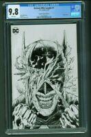 Batman Who Laughs 1 CGC 9.8 Torpedo Comics Edition B Variant Cover Sketch Daniel