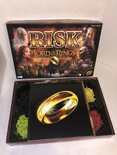 Risk Lord of the Rings LOTR Middle Earth Conquest Parker Brothers 2002 Complete