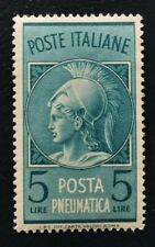 Italy 5 Lire  old stamp MNH #177