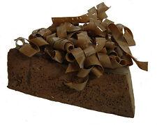 Attrappe Schokoladentortenstück - künstliche Torte - Kuchen - Dekoration