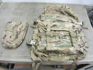 EXC GI Multicam OCP Genuine Military Army Assault Pack Backpack + E TOOL COVER