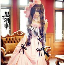 Kuroshitsuji Black Butler Ciel Phantomhive Pink Lolita Dress Cosplay Costume