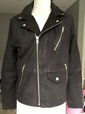 New Urban Outfitters Leather Moto Mens Jacket sz Small