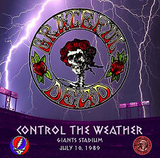 GRATEFUL DEAD Control The Weather in Giants Stadium, July 1989, LIVE on CD
