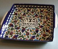Matzah Plate for the Seder Night, Matzah Holder for Passover