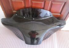 "BAGGER BATWING FAIRING WINDSHIELD YAMAHA ROYAL STAR DELUXE 05-14 6X9"" SPKS HOLE"