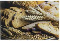 Leonardo Collection Bread Design Glass Worktop Saver Chopping Cutting Board