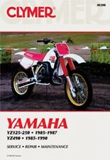 Clymer Repair Service Shop Manual Vintage Yamaha YZ125/YZ250 85-87 YZ490 85-90