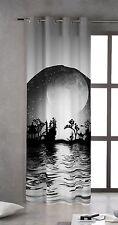 TSUKI YAKAN Cortina japonesa con ojales metálicos 150x260 / Japan Curtains