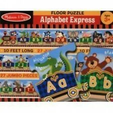 NEW MELISSA & DOUG 4420 ALPHABET EXPRESS FLOOR PUZZLE