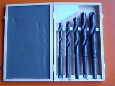 Quality 5Pce (12mm-25mm) HSS MT2 Morse Taper Drill Set