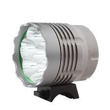 7 x CREE XM-L T6 LED bicicletta 12000lm luce di campeggio ciclismo faro