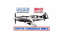 LifeColor UAD520 Teintes Francaises Avions WWII 6X22ml