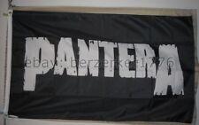 Pantera 3'x5' black flag banner - rock metal Dimebag Darrell USA seller shipper