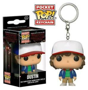 Stranger Things Pocket Pop! Funko Dustin Vinyl Figure Keychain