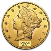 $20 Liberty Gold Double Eagle AU (Random Year)  - SKU #132973