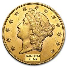SPECIAL PRICE! $20 Liberty Gold Double Eagle AU (Random Year)  - SKU #132973
