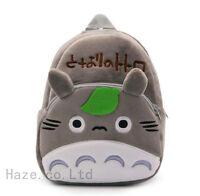 Anime My Neighbor Totoro Backpack Children School Bag Bookbag Soft Plush Gifts
