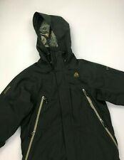 Men's Khaki Green Nike ACG Ski Jacket Small S Vintage Recco Nike Fit Storm B/C