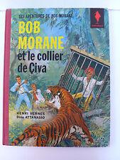 BOB MORANE  LE COLLIER DE CIVA   VERNES/ATTANASIO  MARABOUT EO 1963 BEL ÉTAT