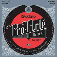 D'Addario EJ45FF Pro-Arte Carbon Trebles/Dynacore Basses, Normal Tension