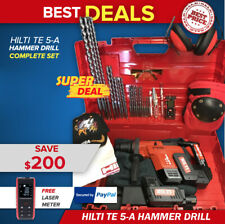 Hilti Te 5 A Hammer Drill Preowned Free Laser Bits Quick Ship
