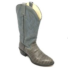 23f9473e8ee Leather Gray Cowboy, Western Boots for Men for sale | eBay