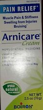 Arnicare Pain Relief Cream -Homepathic - 2.5 oz/70g - 09/2020