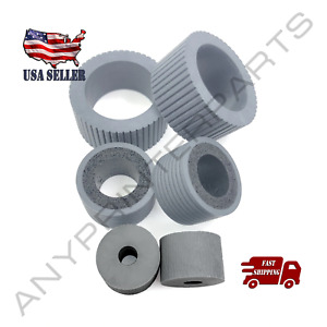 PA03740-K010 PA03740-K011 Pick & Brake Rollers Tire for Fujitsu FI-7600 FI-7700S