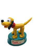 Vintage Walt Disney Pluto Mini Push Button Puppet Kohner 1977