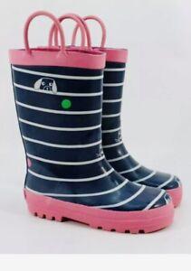Carter's Bobbi Toddler Girls' Navy Rain Boots US 9 ZAP4349 Carters Waterproof