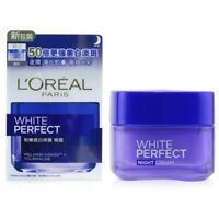 L'Oreal Dermo-Expertise White Perfect Soothing Cream Night 50ml Womens Skin Care