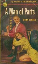 A MAN OF PARTS  by Vivian Connell -  1st Paperback Printing    GGA